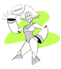 kingkimochi:  warm up with a peri..i miss peridot with her limb enhancers… it was such a LOOK: kingkimochi:  warm up with a peri..i miss peridot with her limb enhancers… it was such a LOOK