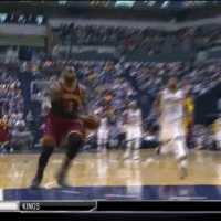 Cleveland Cavaliers, Memes, and Cavaliers: KINGS ThrowBack: LeBron gets the steal and slams down the tomahawk slam! 🔨 TAGS: TeamCavsIG Cle Cleveland Cavaliers Cavs CavsNation ClevelandCavaliers GoCavs NBA NBATV ESPN Sports Nike Basketball BallIsLife StriveForGreatness AllForOne ThisIsCle Believeland TheLand TheQ 216 Together Witness KobeBryant TeamCavsIG Ipromise NBAFinals Ohio CTown
