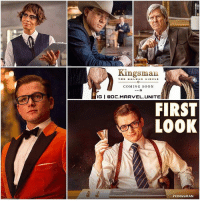 Here's our First Official Look at KingsMan : TheGoldenCircle Featuring TaronEgerton, ChanningTatum, JeffBridges and HalleBerry ! 😱I freaking Loved The First KingsManTheSecretService and I'm so HYPED for The Sequel ! Comment Below ! KingsManTheGoldenCircle 💥: Kingsman  THE GOLD Ci RCLE  COMING SOON  IGI DC.MARVEL UNITE  FIRST  LOOK  Here's our First Official Look at KingsMan : TheGoldenCircle Featuring TaronEgerton, ChanningTatum, JeffBridges and HalleBerry ! 😱I freaking Loved The First KingsManTheSecretService and I'm so HYPED for The Sequel ! Comment Below ! KingsManTheGoldenCircle 💥