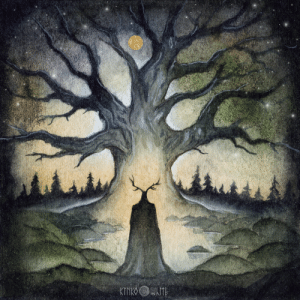 kinko-white:  The Forest GuardianWatercolors and ink: kinko-white:  The Forest GuardianWatercolors and ink