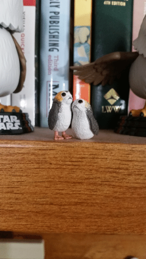 kippurbird:  Jellybean and Peanut, my newest additions to the murder. I think I'm at 32 various porg things?: kippurbird:  Jellybean and Peanut, my newest additions to the murder. I think I'm at 32 various porg things?