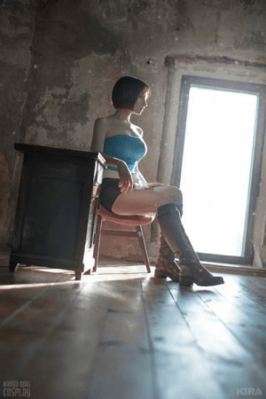 Life, Tumblr, and Blog: KIRA  COSPLa awesomacious:  Russian Cosplayer Brings Resident Evil Character Jill Valentine Back To Real Life
