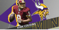 Memes, Vikings, and 🤖: KIRK COUSIN .@KirkCousins8 likely to sign with @Vikings on three-year, fully-guaranteed deal: https://t.co/KZcidRm35P  (via @RapSheet) https://t.co/C32qgKggIA
