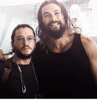 Memes, Kit Harington, and Jason Momoa: Kit Harington e Jason Momoa <3