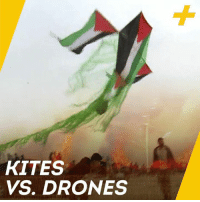 Memes, Drones, and 🤖: KITES  VS. DRONES This David and Goliath story is playing out in the skies above Gaza.