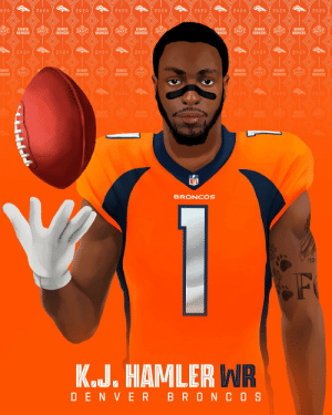 .@Kj_hamler & @jerryjeudy together in the @Broncos rookie class! 🔥 #NFLDraft https://t.co/Xyo9fTCiNf: .@Kj_hamler & @jerryjeudy together in the @Broncos rookie class! 🔥 #NFLDraft https://t.co/Xyo9fTCiNf