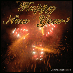 Happy New Year 3: Klapfy  New Year!  CommentNation.com Happy New Year 3