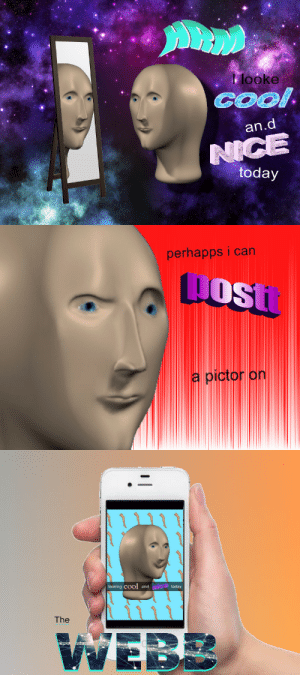 Meme, Tumblr, and Blog: klooke  COO  an.d  today  perhapps i can  osi  a picr on  to  looking cool and today  The tobiassammetsavangaysia:  surreal-meme: snarpchart @asylumsammet