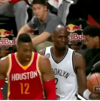 This is what happened in the scuffle between Kevin Garnett and Dwight Howard 💀😂😂👀 - Follow @_nbamemes._ - via @djmeechymeech: KLYN  HOUSTON  12  VE This is what happened in the scuffle between Kevin Garnett and Dwight Howard 💀😂😂👀 - Follow @_nbamemes._ - via @djmeechymeech