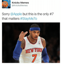 LIKE for Carmelo Anthony, GO to the store and waste 800 bucks for the iPhone 7!  -Tommy New York Knicks Memes: Knicks Memes  Knicks Memes  Sorry  @Apple but this is the only #7  that matters  LIKE for Carmelo Anthony, GO to the store and waste 800 bucks for the iPhone 7!  -Tommy New York Knicks Memes