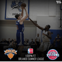 The Knicks take on the Detroit Pistons today at 1:00PM-ET! Frank Ntilikina is ruled OUT. 🏀🗽 KnicksNation: KNICKS  NATION  BR  NUCK  TV  DETROIT  NBA  RISTONS  1:00PM/ET  ORLANDO SUMMER LEAGUE The Knicks take on the Detroit Pistons today at 1:00PM-ET! Frank Ntilikina is ruled OUT. 🏀🗽 KnicksNation