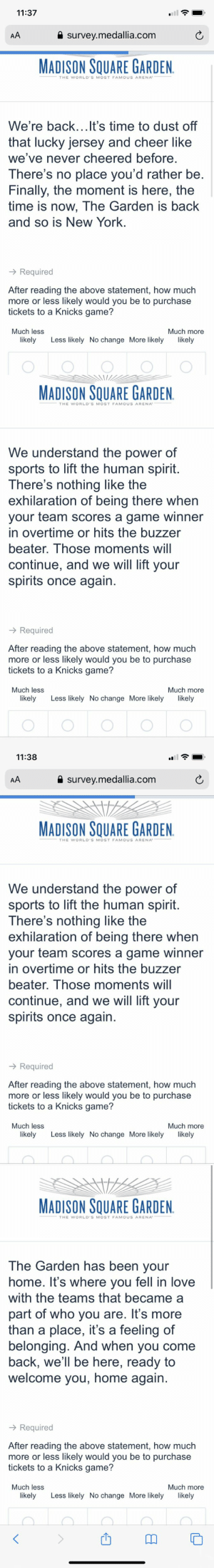 Knicks PR has given up and is now sending fans surveys to tell them what they should say 😂 https://t.co/Dr04oKUZSM: Knicks PR has given up and is now sending fans surveys to tell them what they should say 😂 https://t.co/Dr04oKUZSM