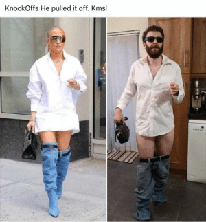 Reddit, Who Wore It Better, and Who: KnockOffs He pulled it off. Kmsl  @oliviabewsher Who wore it better?