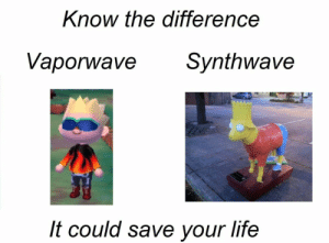https://t.co/gfNomG7pev: Know the difference  Vaporwave  Synthwave  It could save your life https://t.co/gfNomG7pev