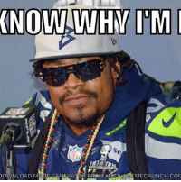 Nfl, Raiders, and Com: KNOW WHMI M  DOWNLOAD M  GENERATOR FROM MEMECRUNCH.COM Marshawn showing up to Raiders camp like...
