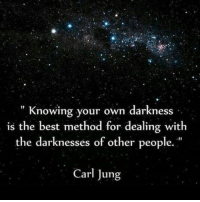 """When we know darkness within ourselves we begin to see how to heal and let our light shine. And so it it with others. ✨ ~xoxo Michelle & Barb: """" Knowing your own darkness  is the best method for dealing with  the darknesses of other people.""""  Carl Jung When we know darkness within ourselves we begin to see how to heal and let our light shine. And so it it with others. ✨ ~xoxo Michelle & Barb"""