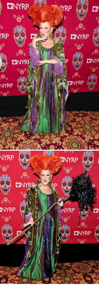 BETTE MIDLER DRESSED UP AS HERSELF FROM HOCUS POCUS FOR HALLOWEEN 🎃👻💀: KNYRP  RP  ON  ON YR  NYRP  KNYRP  ONYT   NYRP  ONY  NYRP  Getty Images  NYRP  KONNYRP BETTE MIDLER DRESSED UP AS HERSELF FROM HOCUS POCUS FOR HALLOWEEN 🎃👻💀