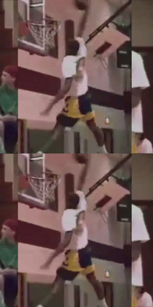 Kobe's 1st dunk contest when he was 15 years old H/t @thescore https://t.co/SbQDwmvFA6: Kobe's 1st dunk contest when he was 15 years old H/t @thescore https://t.co/SbQDwmvFA6