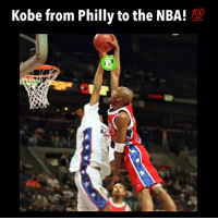 Basketball, Memes, and Kobe: Kobe from Philly to the NBA! Kobe has come from a small high school in Philadelphia, Pennsylvania to now being one of the greatest basketball players of all-time! 🐍💯 Follow (me)-@alleyoopings 🎥:@prosb4pros