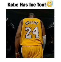 Memes, Kobe, and Contentment: Kobe Has Ice Too!  24 Kobe has ice in his veins too! ❄️ Follow me for more basketball content! 🏀