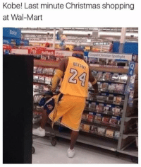 Nba, Wal Mart, and Kobe: Kobe! Last minute Christmas shopping  at Wal-Mart  @NBAMEMES  0 Rollback  Music  Gospel Chtstian Spotlight Black Mamba still clutch. #LakeShow