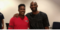 Memes, Patriotic, and 🤖: .@kobebryant visits @Patriots' OTAs: https://t.co/sRRe5SYemR https://t.co/bKYfKKKcyv