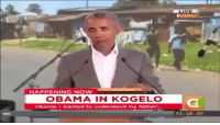 Memes, Obama, and Party: Kogelc  HAPPENING NOW  OBAMA IN KOGELO  Obama: I wanted to understand my father  12145: 67 Sooner or later we will all know the truth. Kenya. Kenyan by route of Indonesia. *** Via @john_tiegen ・・・ So that's how you pronounce Hawaii, man my American English teachers were stupid!! Again, this is the face of the Democratic Party... johntiegen 13hours alwaysmoveforward maga triggered @realdonaldtrump