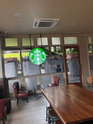Koh samui Thailand. The best Starbucks; the only place in Thailand that accepted discovercard!: Koh samui Thailand. The best Starbucks; the only place in Thailand that accepted discovercard!