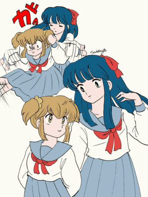 koholint:  the person on twitter who has devoted their life to being able to draw exactly like rumiko takahashi drew poptepipic: koholint:  the person on twitter who has devoted their life to being able to draw exactly like rumiko takahashi drew poptepipic