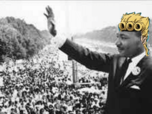 Martin, Martin Luther King Jr., and Martin Luther: Kono Martin Luther King Jr wa yumei ga aru