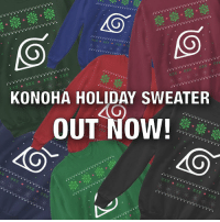 Konoha Sweatshirt perfect for the holidays! Also available as hoodies-tees & worldwide shipping! Get it from the link in my bio! naruto anime manga: KONOHA HOLIDAY SWEATER  OUT NOW!  40 Konoha Sweatshirt perfect for the holidays! Also available as hoodies-tees & worldwide shipping! Get it from the link in my bio! naruto anime manga