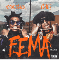 Kodak Black and Plies have a new mixtape dropping tomorrow called 'FEMA' 🔥💯 @KodakBlack1k @Plies https://t.co/5Nt2eLQcVo: KOPA  FINESSEE VAT  A T  CHLE V E  BIG GATES  RECOR D S  PARENTAL  ADVISORY  EXPLICIT CONTENT Kodak Black and Plies have a new mixtape dropping tomorrow called 'FEMA' 🔥💯 @KodakBlack1k @Plies https://t.co/5Nt2eLQcVo
