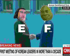 News, Breaking News, and Live: Korean Demilitarized Zone  9:29 AM  E F.  lex  BREAKING NEWS  LIVE  FIRST  MEETING OF KOREAN LEADERS IN MORE THAN A DECADE  ONN  129 AM CET EFFE