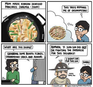 Korean Pancake [OC]: Korean Pancake [OC]