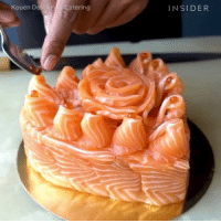 Memes, Wshh, and Cake: Kouen D  Catering  INSIDER Via: @ThisIsInsider & @ThisIsInsiderFood- Sushi lovers...would y'all try this sushi cake? 🍣😳🤔 WSHH