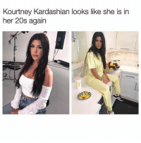 Comment your favourite kardash and we'll see who wins! 👏🏼👏🏼: Kourtney Kardashian looks like she is in  her 20s again Comment your favourite kardash and we'll see who wins! 👏🏼👏🏼
