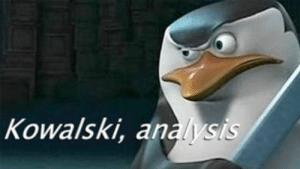 Cute, Dank, and Memes: Kowalski, analysis When I lose a bunch of weight and a cute girl comes up to flirt with me at the bar for the first time ever. by Obiwanjacobi117 MORE MEMES