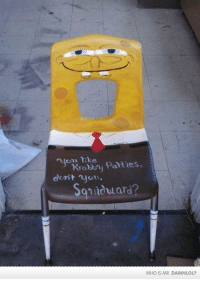 Damn! LOL: Need an extra shot of your daily dose? http://bit.ly/DailyDose125: Krabtry Patties,  dorit  dward?  WHO IS MR. DAMNLOL? Damn! LOL: Need an extra shot of your daily dose? http://bit.ly/DailyDose125