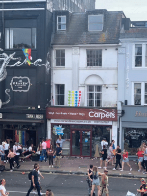 """Where's the pride flag?"" ""Fuck knows, just whack out the twister mat"" [x-post /r/CasualUK]: KRAKEN  BLACK SPICED  RUM  Carpets  Connadine's  Hai  Vinyl Laminate Wood Rugs  D  TANK LAGER  www.cannadinescarpets.co.uk 01273 567187  100%  BLEACH  AUGHITS'E  Barber  Shep ""Where's the pride flag?"" ""Fuck knows, just whack out the twister mat"" [x-post /r/CasualUK]"
