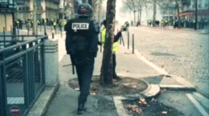 kropotkindersurprise:  locust-degradation:  kropotkindersurprise: December 15 2018 - Cops in Paris are shown specifically targeting peaceful citizens filming riot police. I know this footage looks almost comically dystopian but it is real. [video]  Why and how were they filming themselves filming ??   Independent journalists often have a gopro camera on their helmet or chest that just films continuously during a protest or a riot to catch stuff happening without having to grab their camera all the time, and then usually also have a higher quality professional camera. : kropotkindersurprise:  locust-degradation:  kropotkindersurprise: December 15 2018 - Cops in Paris are shown specifically targeting peaceful citizens filming riot police. I know this footage looks almost comically dystopian but it is real. [video]  Why and how were they filming themselves filming ??   Independent journalists often have a gopro camera on their helmet or chest that just films continuously during a protest or a riot to catch stuff happening without having to grab their camera all the time, and then usually also have a higher quality professional camera.