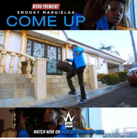 "Cum, Memes, and Worldstarhiphop: KSHH PREMIERE  SMO OKY  MARGIELA A  COME UP  WATCH NOW ON WORLDSTARHIPHOP CUM WSHH Premiere @WhoIs.SmookyMargielaa ""Come Up"" LiveNow SmookyMargielaa ComeUp dir- @benjifilmz"