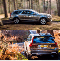 We've been getting a Volvo V90 Cross Country moderately muddy today! So much Swedish coolness in one car...: KT6G KAP  T We've been getting a Volvo V90 Cross Country moderately muddy today! So much Swedish coolness in one car...
