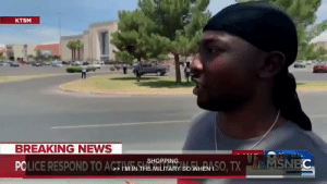 One of the brave people from El Paso today by MGLLN MORE MEMES: KTSM  BREAKING NEWS  PCLICE RESPOND TO ACTIVNSSHOPP So WHEN ISO, TX  1226  MSNBC One of the brave people from El Paso today by MGLLN MORE MEMES