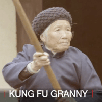 Grandma, Internet, and Memes: KUNG FU GRANNY 24 FEB: A 94-year-old grandma in China has become an internet sensation after video of her kicks and fighting went viral. The BBC went to meet her in her remote village to find out the secret of her success. Find out more: bbc.in-kungfugranny KungFu MartialArts China Elderly Ageing Seniors BBCShorts BBCNews @BBCNews