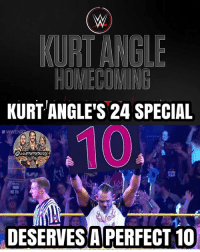 Holy fuck did I enjoy this 24 so much, wow. Kurt Angle has always been one of my favorite wrestlers of all time and seeing this was awesome. From his amateur career, to his time in WWE, to working in TNA (YES THEY ACTUALLY FUCKING MENTIONED ITS EXISTENCE, I KNOW RIGHT), to recovering from drug and alcohol problems, to returning to WWE, this is probably my favorite 24 WWE made. And considering that I'm also from Pittsburgh, it was so awesome to see him talking about being from there and how he grew up there, and that his dad helped build one of the buildings in Pittsburgh, it was all awesome. They also showed a video of him from 2001 where he was standing by where all the main buildings are in Pittsburgh, and it was awesome seeing my city from a time when I wasn't even born. So if you have the WWE Network, go and watch this right now if you haven't yet, you won't regret it 🤘🔥🇺🇸 kevinowens chrisjericho romanreigns braunstrowman sethrollins ajstyles deanambrose randyorton braywyatt jindermahal baroncorbin charlotte samoajoe shinsukenakamura samizayn johncena sashabanks brocklesnar bayley alexabliss themiz finnbalor kurtangle greatballsoffire wwememes wwememe wwefunny wrestlingmemes wweraw wwesmackdown: KURT ANGLE'S 24 SPECIAL  OWWEMEMESONIY  DESERVES A PERFECT 10 Holy fuck did I enjoy this 24 so much, wow. Kurt Angle has always been one of my favorite wrestlers of all time and seeing this was awesome. From his amateur career, to his time in WWE, to working in TNA (YES THEY ACTUALLY FUCKING MENTIONED ITS EXISTENCE, I KNOW RIGHT), to recovering from drug and alcohol problems, to returning to WWE, this is probably my favorite 24 WWE made. And considering that I'm also from Pittsburgh, it was so awesome to see him talking about being from there and how he grew up there, and that his dad helped build one of the buildings in Pittsburgh, it was all awesome. They also showed a video of him from 2001 where he was standing by where all the main buildings are in Pittsburgh, and it was awesome seeing my city from a time when I wasn't even born. So if you have the WWE Network, go and watch this right now if you haven't yet, you won't regret it 🤘🔥🇺🇸 kevinowens chrisjericho romanreigns braunstrowman sethrollins ajstyles deanambrose randyorton braywyatt jindermahal baroncorbin charlotte samoajoe shinsukenakamura samizayn johncena sashabanks brocklesnar bayley alexabliss themiz finnbalor kurtangle greatballsoffire wwememes wwememe wwefunny wrestlingmemes wweraw wwesmackdown