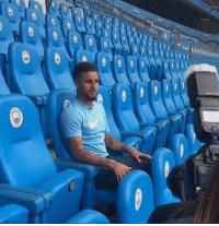 Kyle Walker pictured with the Man City fans...: Kyle Walker pictured with the Man City fans...