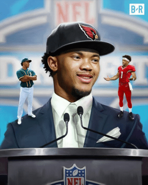 Mlb, Nfl, and First: Kyler becomes the first athlete to be a first round pick in both the MLB & NFL 👏