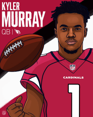 Memes, Nfl, and Cardinals: KYLER  MURRAY  NEL  CARDINALS  NFL Welcome to the @AZCardinals, @TheKylerMurray! 🙌 https://t.co/UeFY2ZhMKu