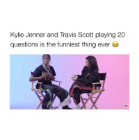 watching travis trying to name the different kylie cosmetics products has me weak (All credit goes to @GQ): Kylie Jenner and Travis Scott playing 20  questions is the funniest thing ever  GQ watching travis trying to name the different kylie cosmetics products has me weak (All credit goes to @GQ)