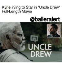 "All Star, Apparently, and Cleveland Cavaliers: Kyrie Irving to Star in ""Uncle Drew""  Full-Length Movie  @balleralert  UNCLE  DREW Kyrie Irving to Star in ""Uncle Drew"" Full-Length Movie - blogged by:@msjennyb ⠀⠀⠀⠀⠀⠀⠀⠀⠀ ⠀⠀⠀⠀⠀⠀⠀⠀⠀ Cleveland Cavaliers star KyrieIrving will reportedly be taking his talents to the big screen. ⠀⠀⠀⠀⠀⠀⠀⠀⠀ ⠀⠀⠀⠀⠀⠀⠀⠀⠀ On Thursday, Pepsi announced that they will be turning the 2012 commercial character, UncleDrew, into a full-length major motion picture. ⠀⠀⠀⠀⠀⠀⠀⠀⠀ ⠀⠀⠀⠀⠀⠀⠀⠀⠀ According to ESPN, the beloved character is an older man, played by Irving, who hides his basketball skills and gets buckets in local pick up games. ⠀⠀⠀⠀⠀⠀⠀⠀⠀ ⠀⠀⠀⠀⠀⠀⠀⠀⠀ ""Pepsi and Kyrie Irving are looking forward to expanding the Uncle Drew universe,"" Lou Arbetter, the general manager of Pepsi's in-house production company, said. ⠀⠀⠀⠀⠀⠀⠀⠀⠀ ⠀⠀⠀⠀⠀⠀⠀⠀⠀ Initially, the company signed the baller to a small marketing deal after the 2011 draft, however after the character became a widespread sensation, the company re-signed Irving three years later for more Uncle Drew magic. ⠀⠀⠀⠀⠀⠀⠀⠀⠀ ⠀⠀⠀⠀⠀⠀⠀⠀⠀ ""I'm really proud of what we've been able to build with Pepsi,"" Irving told ESPN. ""And even more excited for what's ahead."" ⠀⠀⠀⠀⠀⠀⠀⠀⠀ ⠀⠀⠀⠀⠀⠀⠀⠀⠀ If an Uncle Drew film wasn't enough, Pepsi is launching a website and merchandise of the pickup game phenomenon that will be available just in time for the 2017 All-Star game. ⠀⠀⠀⠀⠀⠀⠀⠀⠀ ⠀⠀⠀⠀⠀⠀⠀⠀⠀ Although a release date for the film has not been revealed, according to NBC Sports, the writer and plot have already been set. Apparently, there will be a slew of current and former ballers set to make an appearance in the film. ⠀⠀⠀⠀⠀⠀⠀⠀⠀ ⠀⠀⠀⠀⠀⠀⠀⠀⠀ Who is ready for an Uncle Drew movie?"